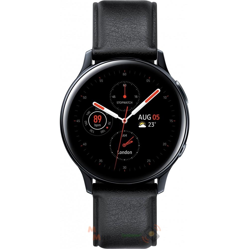 Смарт-часы Samsung Galaxy Watch Active 2 40mm (SM-R830NSKASEK) Stainless steel Black