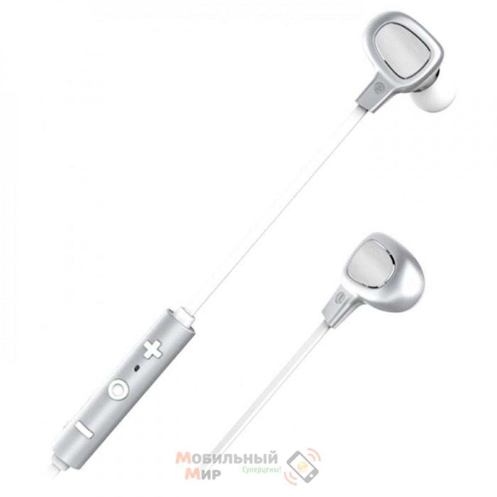 Наушники с микрофоном Baseus B15 Seal Silver/White (NGB15-02)