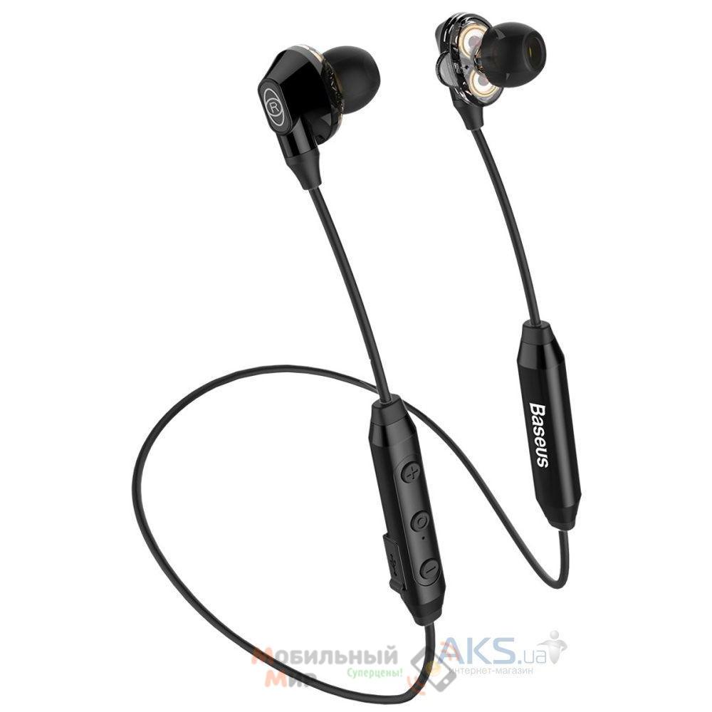 Наушники с микрофоном Baseus Encok S10 Black (NGS10-01)