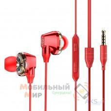 Наушники с микрофоном Baseus Encok H10 Red