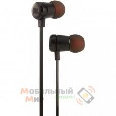 Наушники с микрофоном JBL T290 Black(JBLT290BLK)
