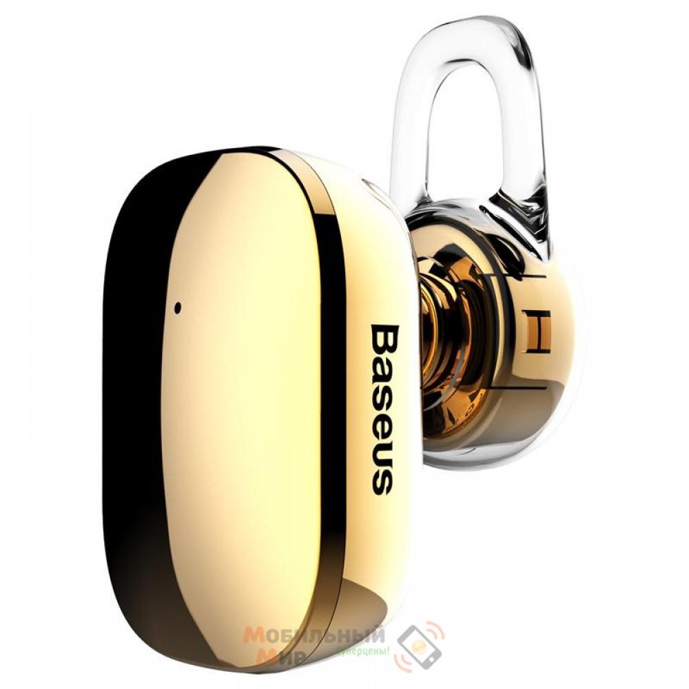 Bluetooth-гарнитура Baseus A02 Encok Mini Wireless Earphone Gold (NGA02-0V)