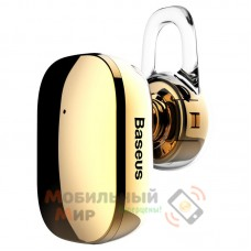 Bluetooth-гарнитура Baseus A02 Encok Mini Wireless Earphone Gold (NGA02-0V)