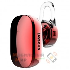Bluetooth-гарнитура Baseus A02 Encok Mini Wireless Earphone Red (NGA02-09)