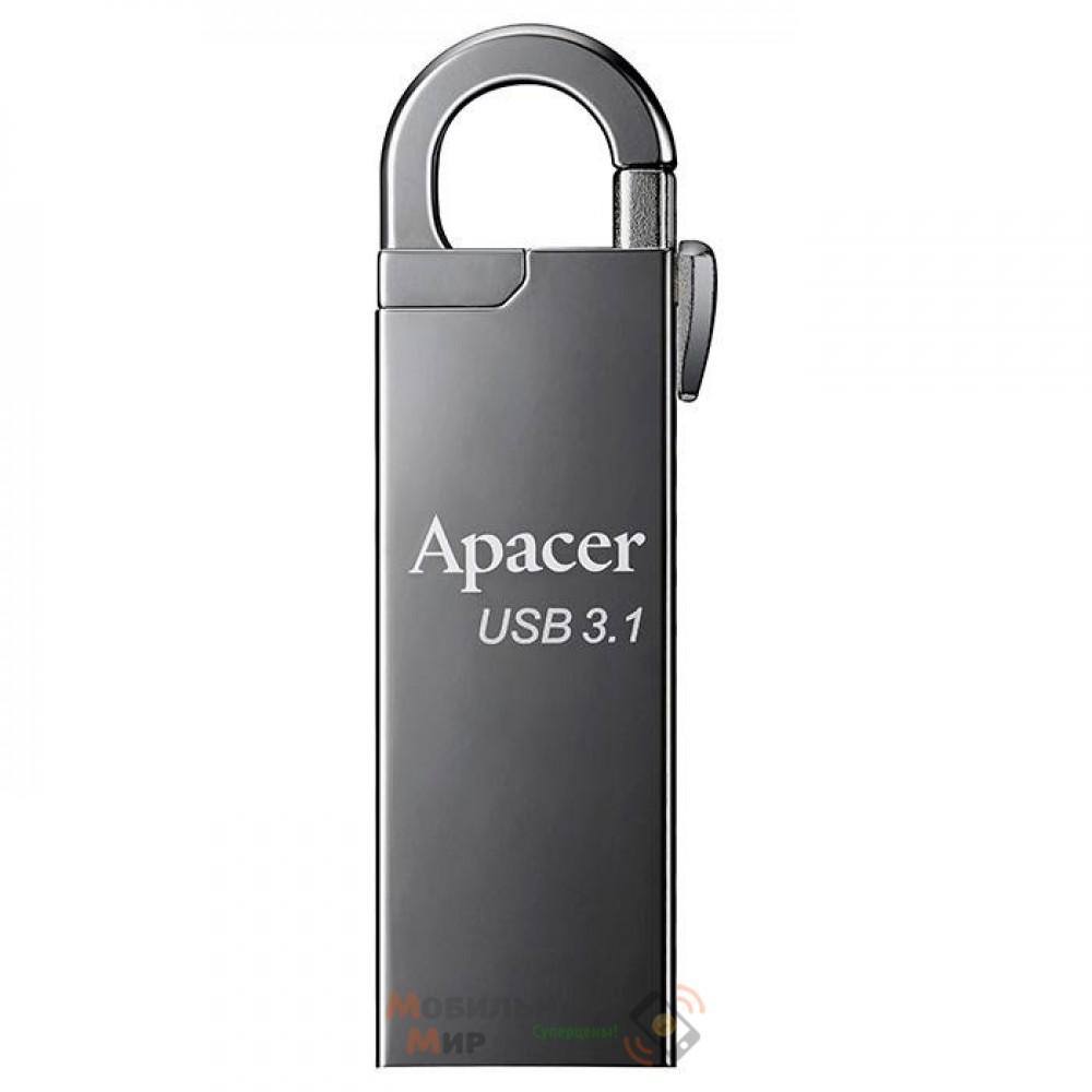 Флешка Apacer 16 GB AH15A Ashy USB 3.1 (AP16GAH15AA-1)