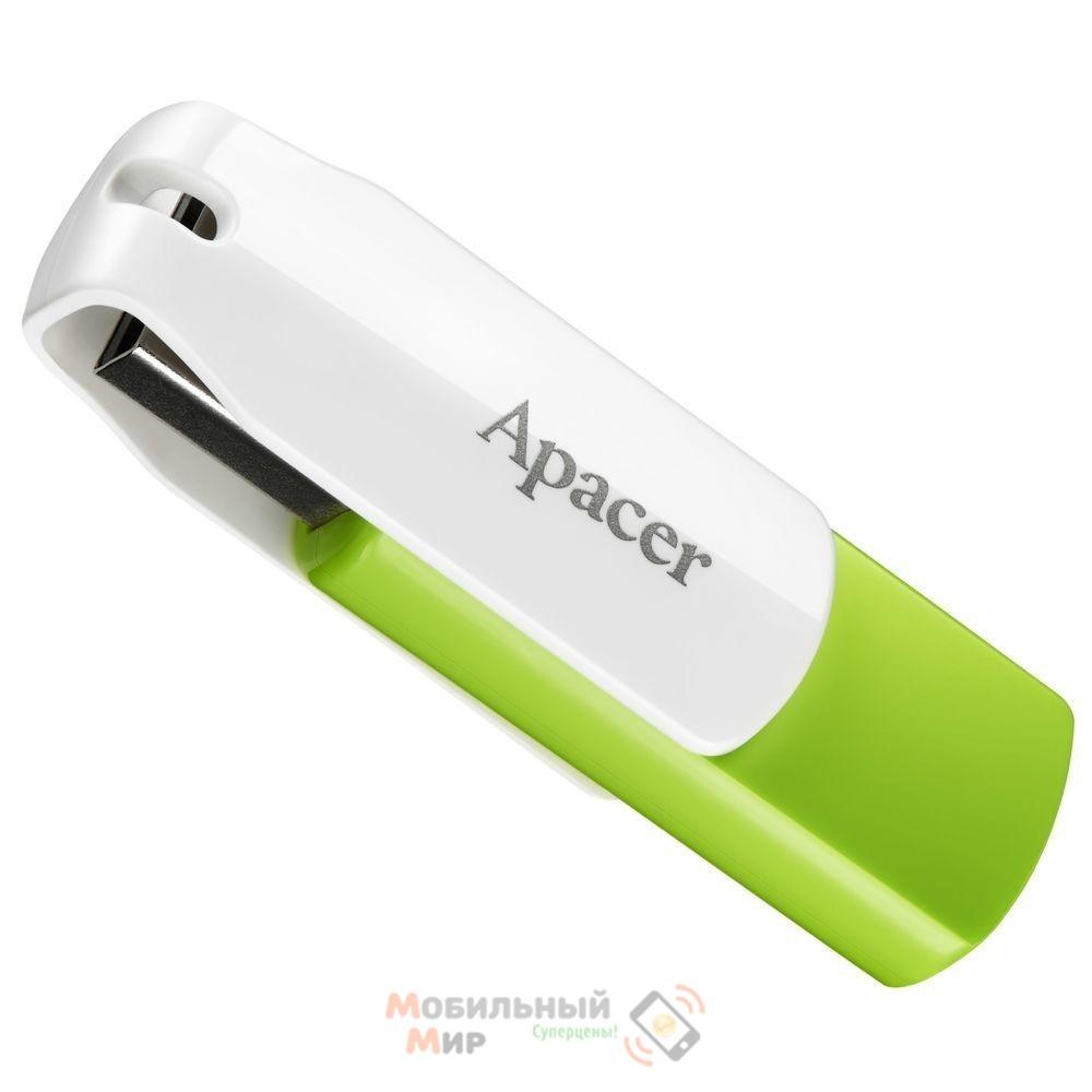 Флешка Apacer 16 GB AH335 Green (AP16GAH335G-1)