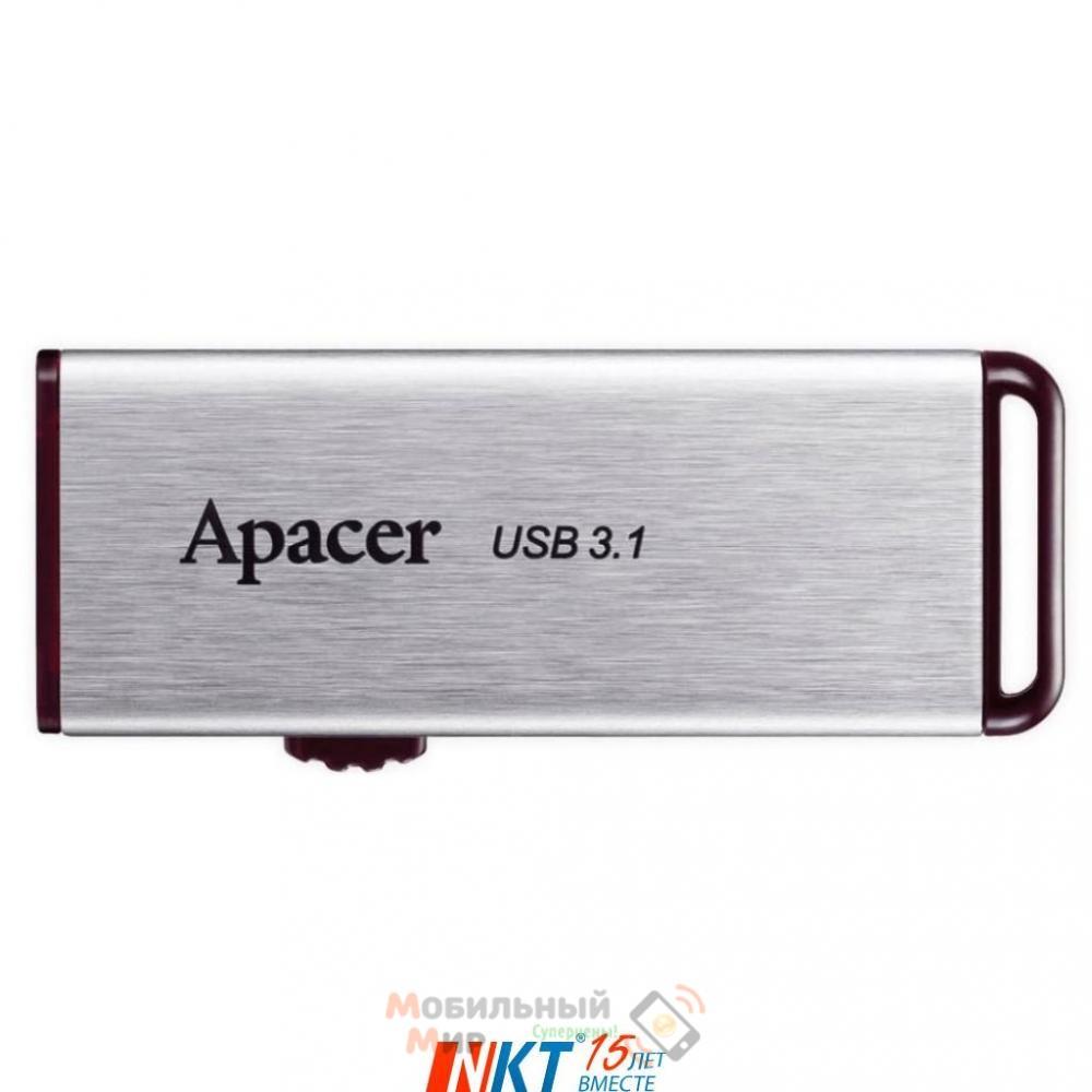 Флешка Apacer 16 GB AH35A Silver USB 3.1 (AP16GAH35AS-1)