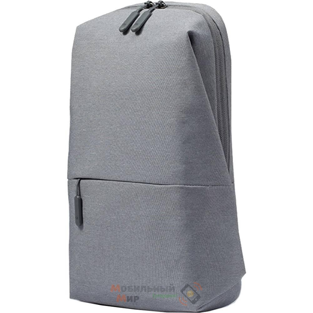 Рюкзак Xiaomi Mi City Sling Bag (Light Grey)