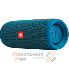 Портативная акустика JBL Flip 5 Eco Edition Blue (JBLFLIP5ECOBLU)