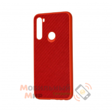 Накладка карбоновая Kevlar для Xiaomi Redmi Note 8 Red