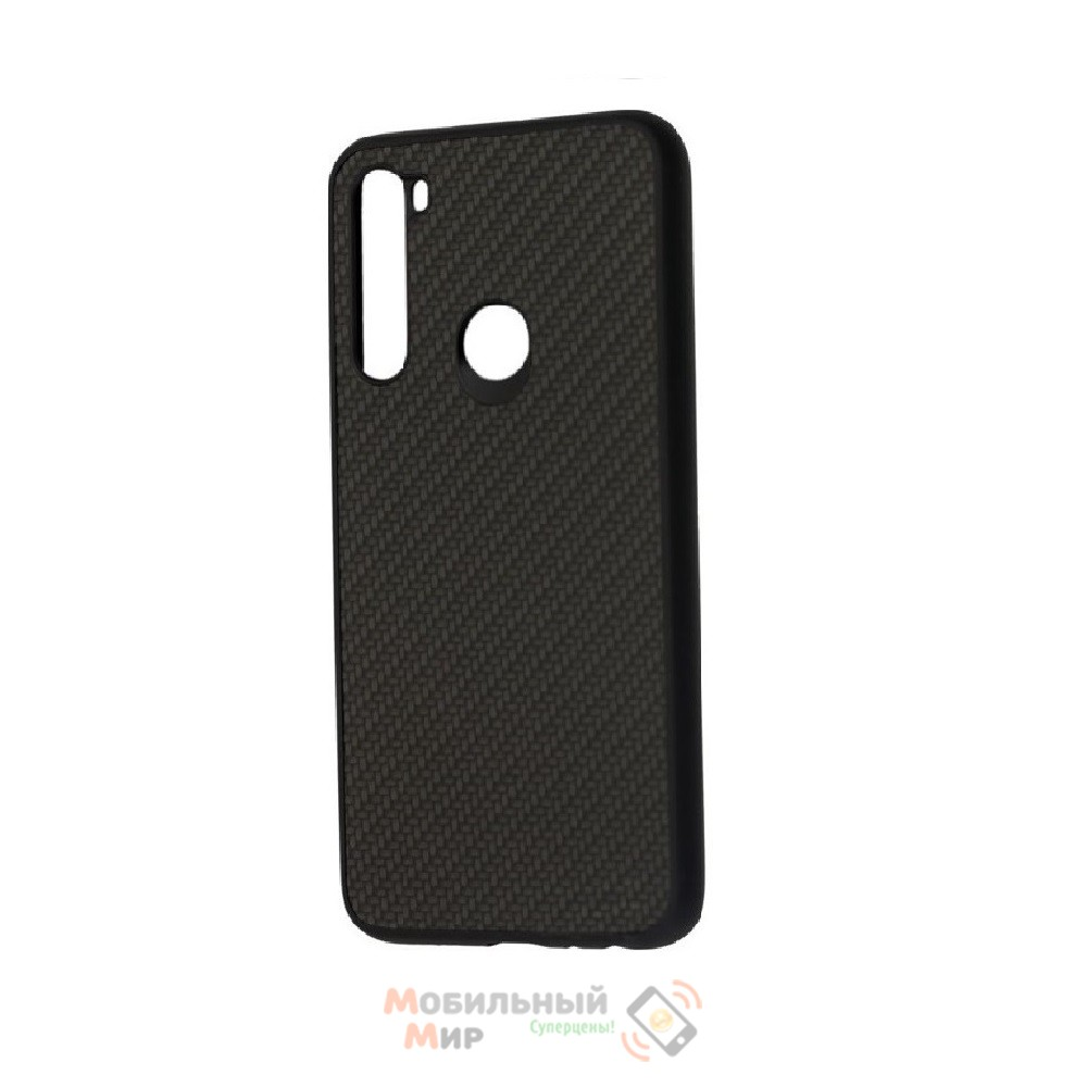 Накладка карбоновая Kevlar Black для смартфона Xiaomi Redmi Note 8