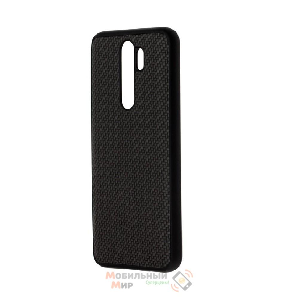 Накладка карбоновая Kevlar Black для смартфона Xiaomi Redmi Note 8 Pro