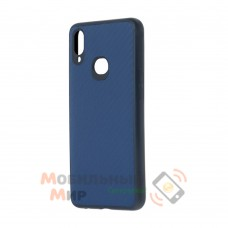 Накладка карбоновая Kevlar для Samsung A10s/A107 Blue