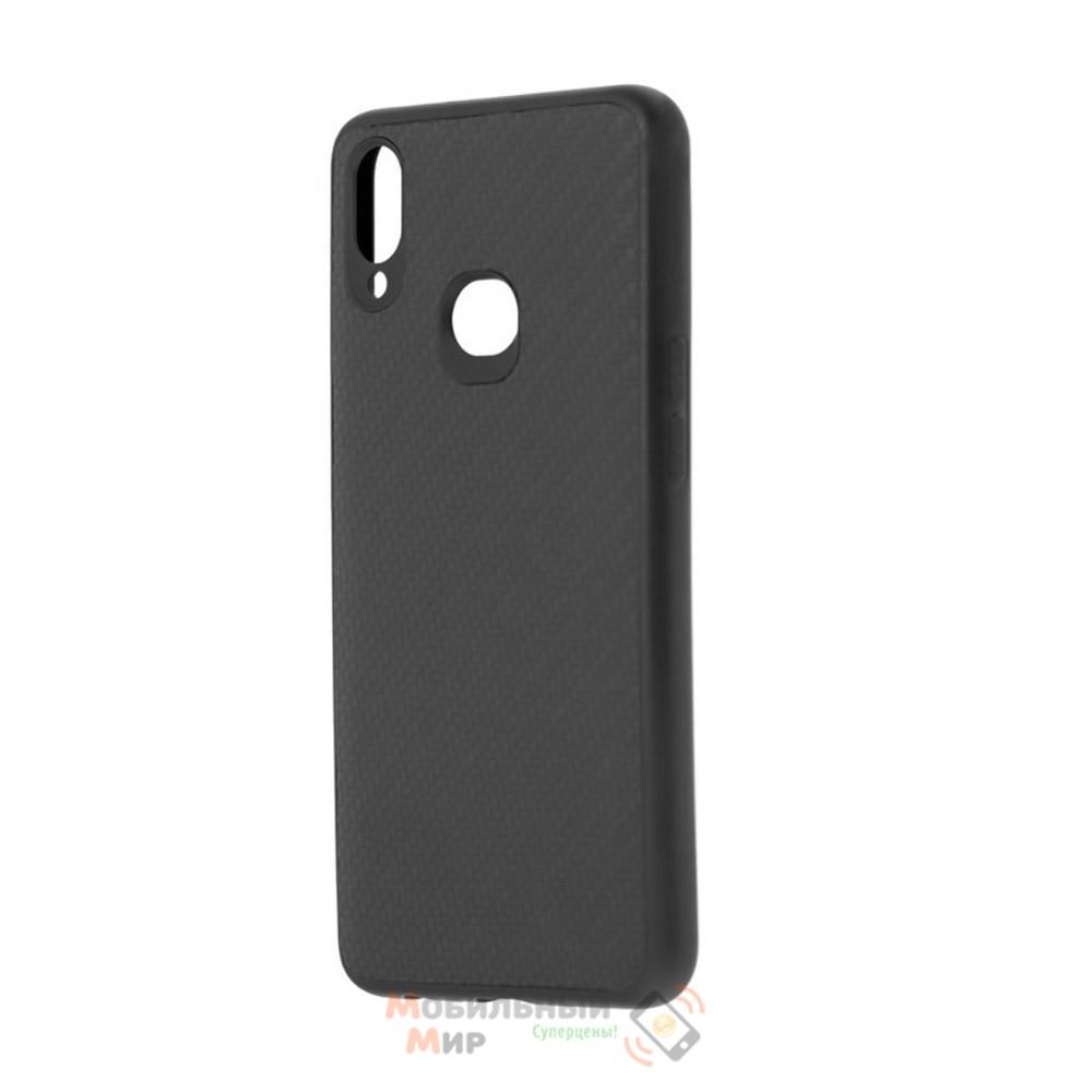 Накладка карбоновая Kevlar Black для смартфона Samsung A10s/A107
