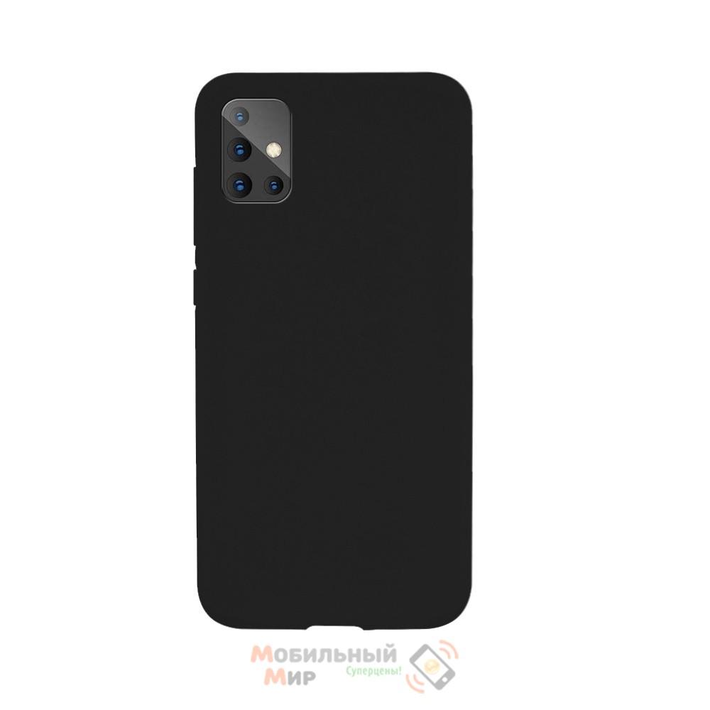 Силиконовая накладка SMTT- Soft Touch для Samsung A51/A515 Black