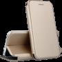 Чехол-книжка Premium Leather Cas для Samsung A71/715 Gold