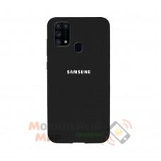 Силиконовая накладка Silicone Case для Samsung M31 2020 M315 Black