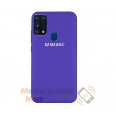 Силиконовая накладка Silicone Case для Samsung M31 2020 M315 Violet