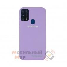 Силиконовая накладка Silicone Case для Samsung M31 2020 M315 Lilac