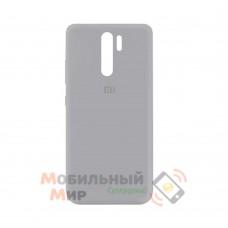 Силиконовая накладка Silicone Case для Xiaomi Redmi 9 Gray
