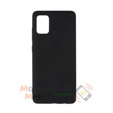 Силиконовая накладка Graphite для Samsung A51/A515 2020 Black