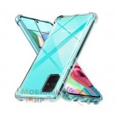 Силикон WS SHOCKPROOF Samsung A71/A715 2020 Transparent
