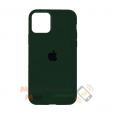 Накладка Silicone Case для iPhone 12 mini Dark Green