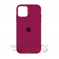Накладка Silicone Case для iPhone 12 Pro Burgundy