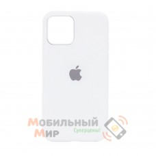 Накладка Silicone Case для iPhone 12 mini White