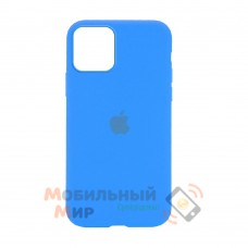 Накладка Silicone Case для iPhone 12 mini Blue