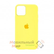 Накладка Silicone Case для iPhone 12 Pro Yellow