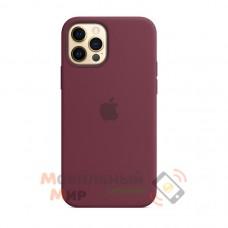 Накладка Silicone Case для iPhone 12 Pro Plum