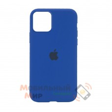 Накладка Silicone Case для iPhone 12 mini Dark Blue