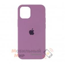 Силиконовая накладка Silicone Case Full для iPhone 13 Pro Max Lilac Pride