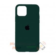 Силиконовая накладка Silicone Case Full для iPhone 13 Pro Max Forest Green