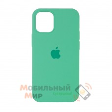 Силиконовая накладка Silicone Case Full для iPhone 13 Pro Max Spearmint