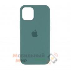 Силиконовая накладка Silicone Case Full для iPhone 13 Pro Max Pine Green