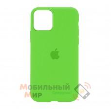 Силиконовая накладка Silicone Case Full для iPhone 13 Pro Max Party Green
