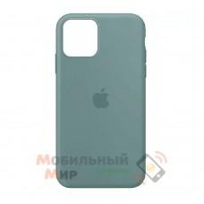 Силиконовая накладка Silicone Case Full для iPhone 13 Pro Max Cactus