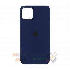 Силиконовая накладка Silicone Case Full для iPhone 13 Pro Max Deep Navy