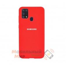 Силиконовая накладка Silicone Case для Samsung M31 2020 M315 Hot Orange