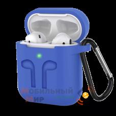 Чехол для наушников Apple AirPods/AirPods2 Blue