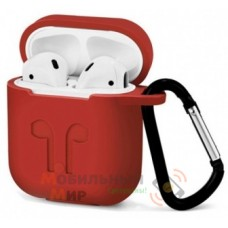 Чехол для наушников Apple AirPods/AirPods2 Crimson