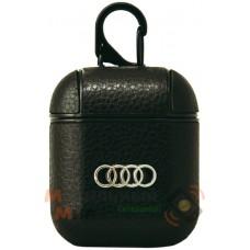Чехол для наушников Apple AirPods/AirPods2 Leather Brandds Audi
