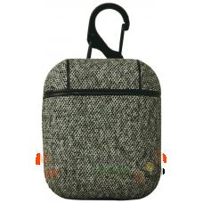 Чехол для наушников Apple AirPods/AirPods2 Texyile Grey