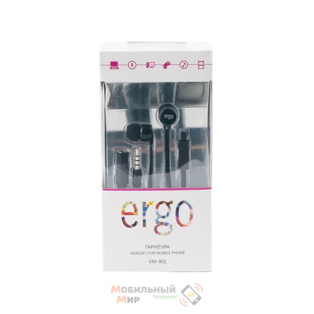 Наушники ERGO VM-901 Black mic