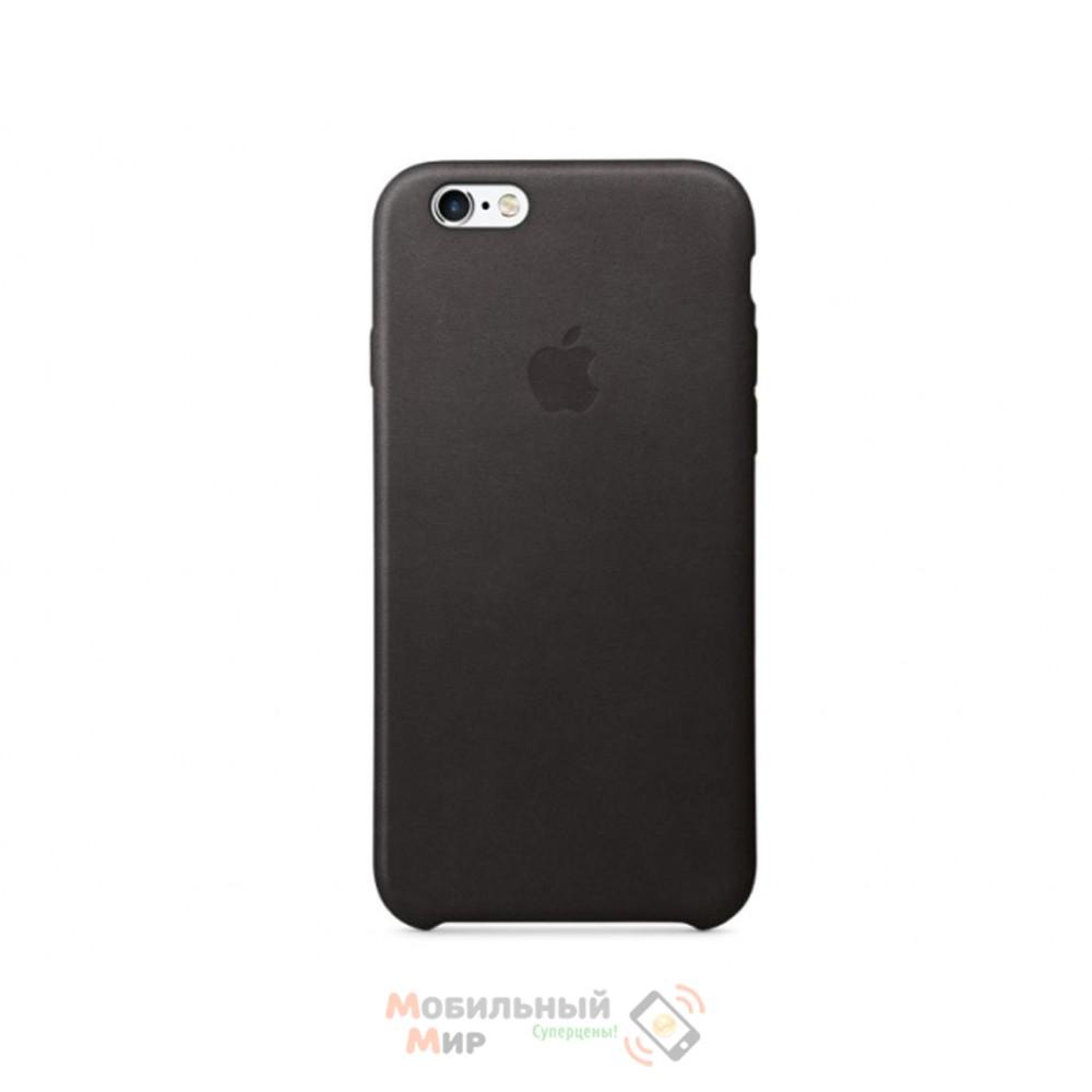 Чехол кожаный для iPhone 6/6s Black (MKXW2ZM/A)