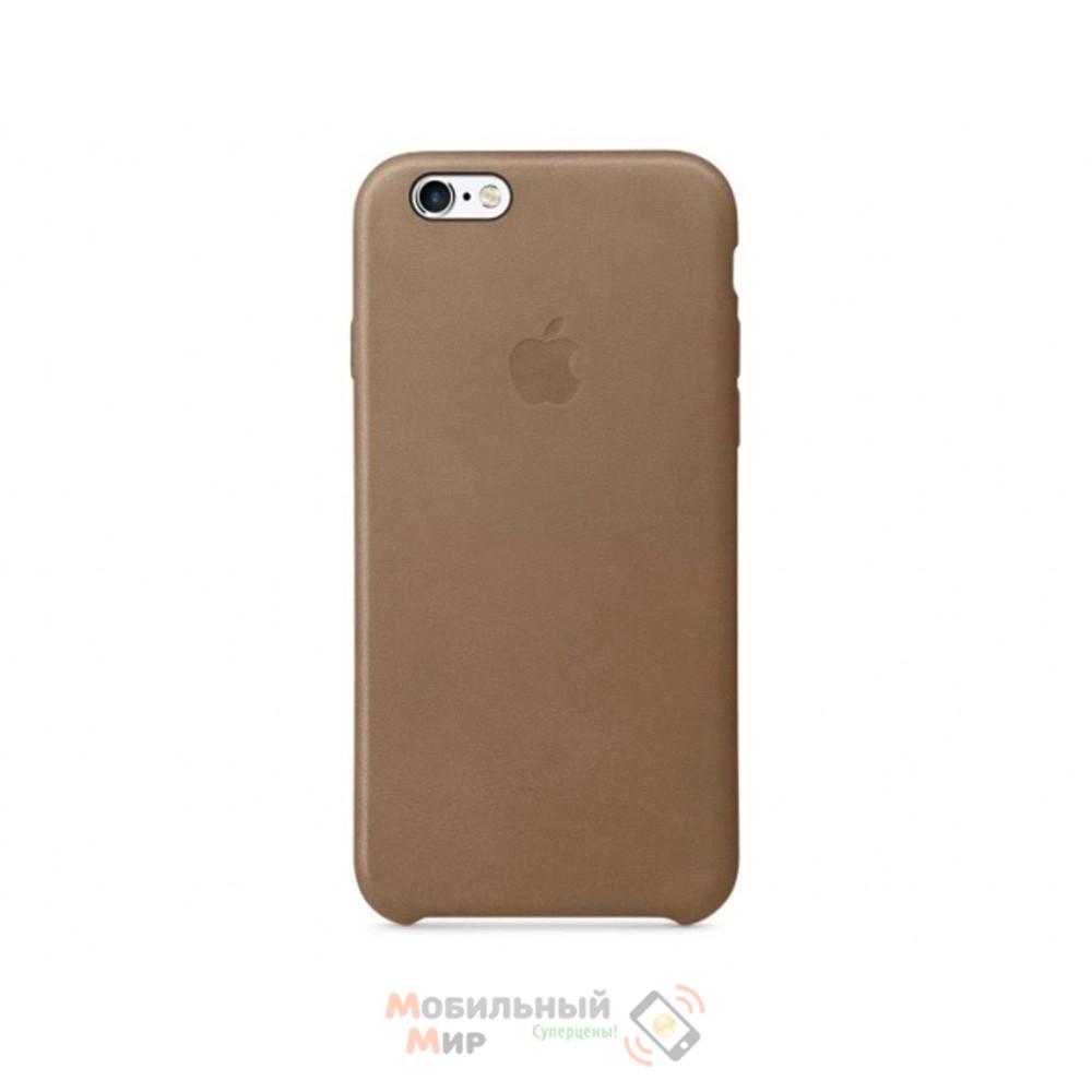 Чехол кожаный для iPhone 6/6s Brown (MKXR2ZM/A)