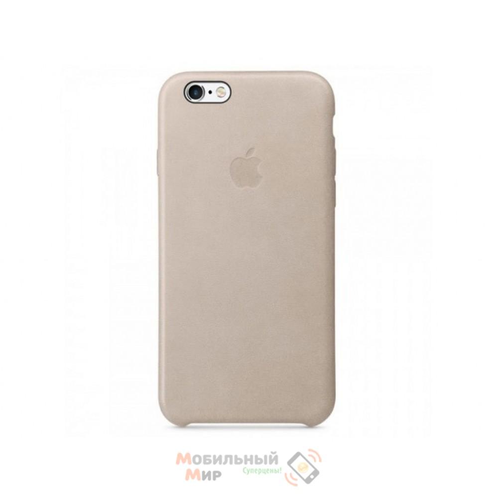 Чехол кожаный для iPhone 6/6s Rose Grey (MKXV2ZM/A)