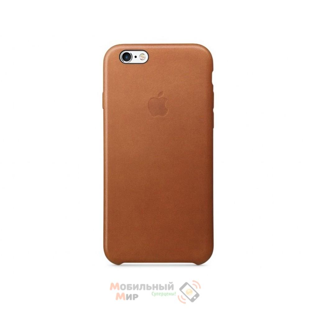 Чехол кожаный для iPhone 6/6s Saddle Brown (MKXT2ZM/A)